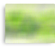 Lime Copper Zag  Canvas Print