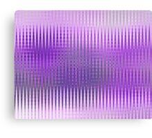 Lilac Copper Zag  Canvas Print