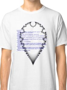 Self documenting inverted mandelbrot   Classic T-Shirt