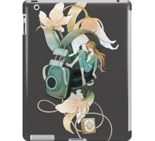 Thumbelina - grey iPad Case/Skin