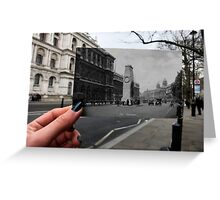 London Postcard - The Cenotaph Greeting Card