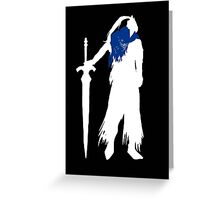 Abyss Knight Greeting Card