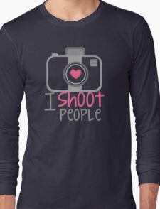camera photographer Long Sleeve T-Shirt