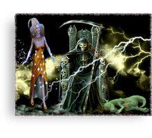 electrical magic Canvas Print