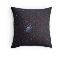 M37 salt and pepper cluster Throw Pillow
