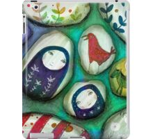 painted stones  iPad Case/Skin
