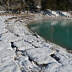 Snowy Lake Shore  by jojobob