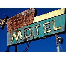 Port Motel Photographic Print