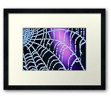 Frosty Sparkles Framed Print