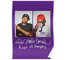 666 Mafia for Supreme Purple Media Cases, Pillows, and More. Poster