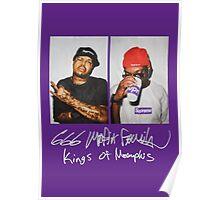 666 Mafia for Supreme Purple Media Cases, Pillows, and More. Poster