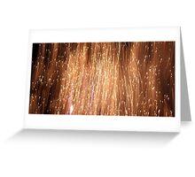 Fireworks in Taree 4 Greeting Card