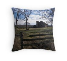visitors.. Throw Pillow