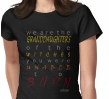 We Are the Granddaughters Womens Fitted T-Shirt