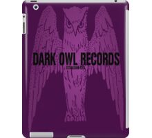 Dark Owl Records iPad Case/Skin