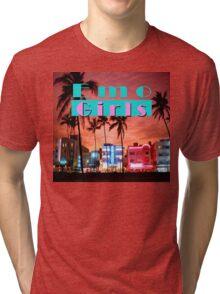 Emo Girl Miami Vice Tri-blend T-Shirt