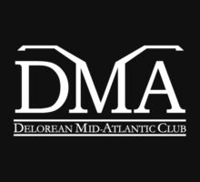 DeLorean Mid-Atlantic Official Logo White by DeLorean