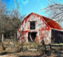 The Old Barn by Kay  G Larsen