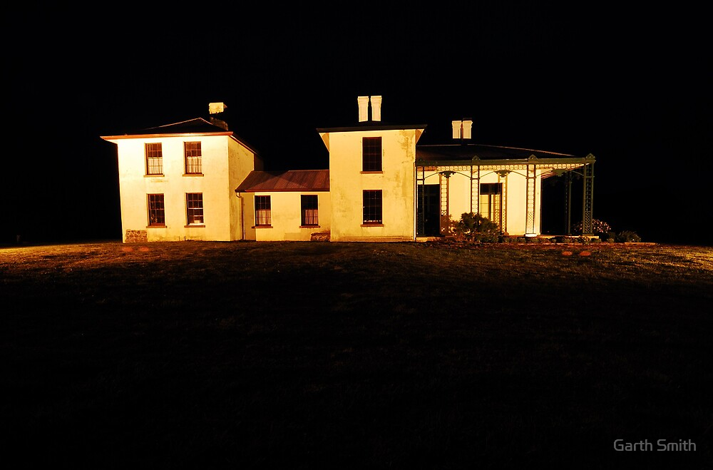 Highfield House circa 1832, Stanley, NW Tasmania by Garth Smith