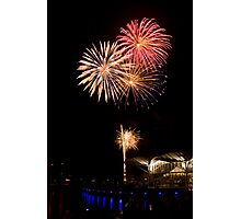 New Year at the Carousel Photographic Print