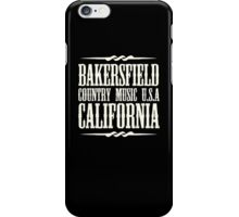 Bakersfield Country iPhone Case/Skin