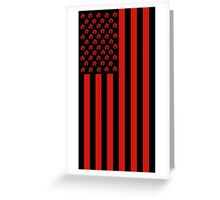 United States of Anarchy - Red Greeting Card
