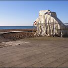 Were Christo And Jeanne-Claude On Brighton Beach? by Jazzdenski