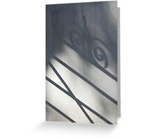 Shadow of a Gate Greeting Card