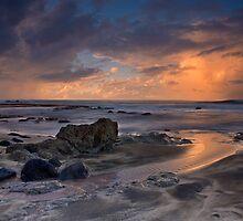 Storm Passing Near Ka'ena Point, Hawaii by David Orias