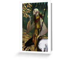 Solas romance tarot  Greeting Card