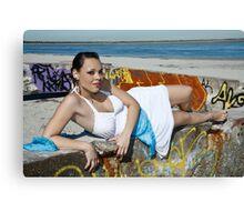 Beach 2 Canvas Print