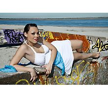 Beach 2 Photographic Print
