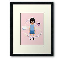 A Smart, Strong, Sensual Woman Framed Print