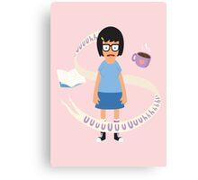 A Smart, Strong, Sensual Woman Canvas Print