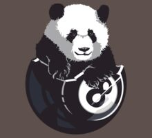 8-Ball Panda One Piece - Short Sleeve