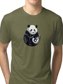 8-Ball Panda Tri-blend T-Shirt