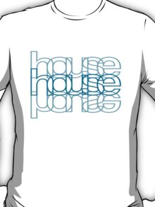 House Mirror Blue T-Shirt