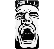 Yell Face Split iPhone Case/Skin