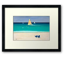 """""""Coastal Calm""""... prints and products Framed Print"""