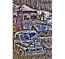 Rusty and Rustier Photographic Print