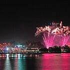 Perth New Years Eve Fireworks  by EOS20
