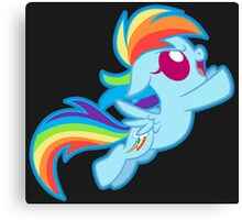 Chibi Dashie  Canvas Print
