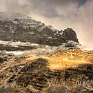 Athabasca Golden Peaks by Amanda White