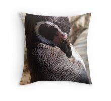 Sunkissed Penguin Throw Pillow