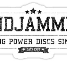 Windjammers - Retro Black Dirty Sticker