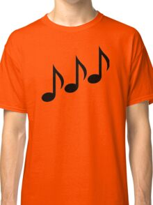 Notes music Classic T-Shirt