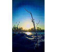 hampermill lakes Photographic Print
