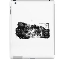 The Alphabet of Chaos #23 iPad Case/Skin