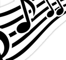 Notes music Sticker