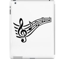 Notes music iPad Case/Skin